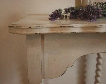 Antique Barley Twist Hall Table