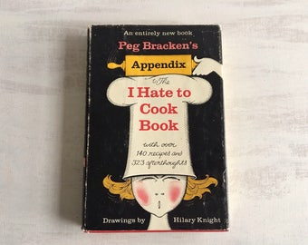 Vintage 1966 Appendix to the I Hate to Cook Book