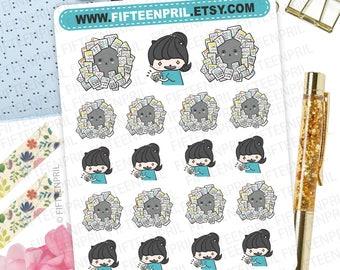 Sticker hoarder foxigirl stickers-J141