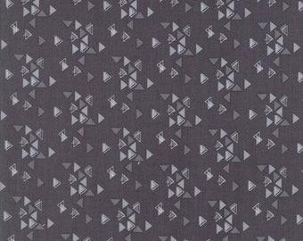 1/2 Yard - Spectrum Ombre - Triangles - Grey Scale - V and Co - Vanessa Christenson - Moda Fabrics - Fabric Yardage - 10862-21