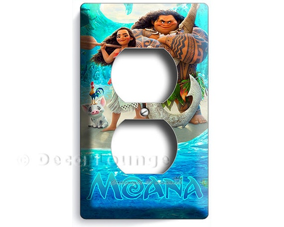 Disney Moana Electrical Wall Outlet Cover