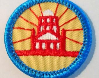 "Junior Girl Scout Badge ""My Community"" circa 1980"