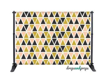 Triangles - Photography Backdrop