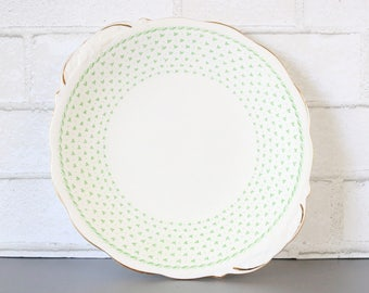 Shamrock Cake Plate With Handles. Shamrock Handled Serving Platter. Luck Of The Irish Plates. Irish SVG. Tray For Cookies. Clover Plates