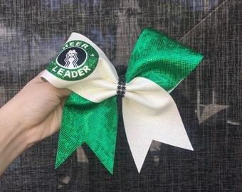 Cheerleader Starbucks Cheer Bow