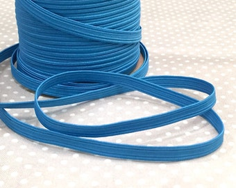 """Rubber band 7 mm """"blue"""" from 1 m"""