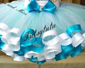 Ribbon Trim tutu skirt