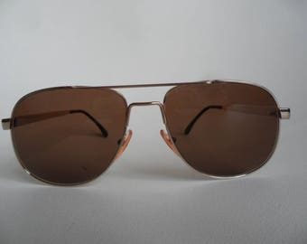 Bruce Vintage men metal framed sunglasses,sunglasses,seventies eyewear,eye fashion for men,made in Italy,pilot men sunglasses