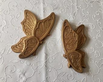 Universal Statuary vintage butterflies wall hanging, 3D 1973