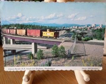 Union Pacific R. R. Heads for Spokane, Washington
