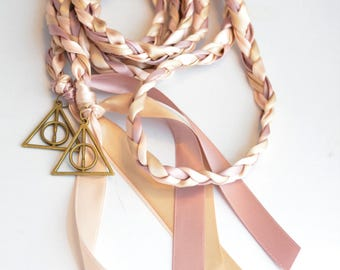 Wizard Handfasting Cord ~  Wedding Handfasting ~ Celtic handfasting ~ Wedding Ceremony ~ Harry Potter ~ Handblessing ~ Handfasting Vows