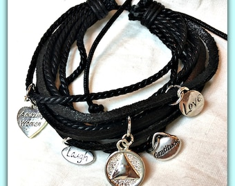 AA 12 Step Recovery Bracelet for an Amazing Woman