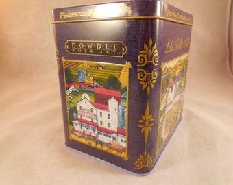 Tin from Dowdle folk art, Lehi Roller Mills in Utah.