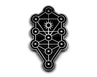 Sephirothic Tree Pin