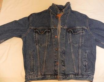 Levi Strauss & Co. blue jean jacket