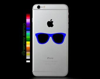 Sunglasses Phone Decal