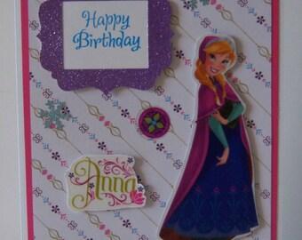 Anna Birthday Card