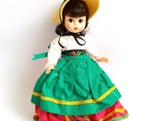 Vintage Madame Alexander Doll, Friends From Foreign Lands Series - Italy