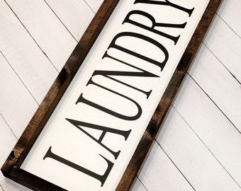 Laundry sign,  farmhouse style, laundry room sign, farmhouse decor, rustic sign