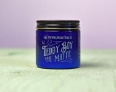 Teddy Boy Matte - Non-Greasy Dry Hair Wax.  Water-based.