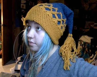 Crowned elf hat