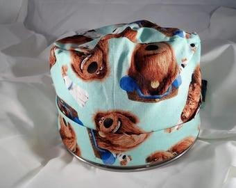 Women's Pixie Style Surgical Cap (Dogs/Pets)
