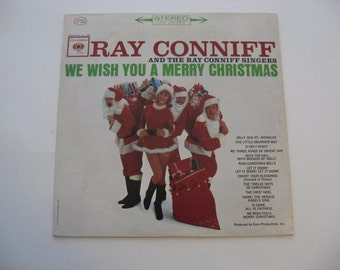 Ray Conniff - We Wish You A Merry Christmas - Circa 1962