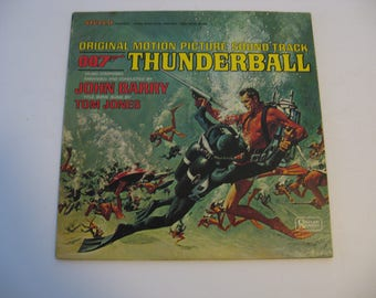 John Barry - Tom Jones - Thunderball Soundtrack- Stereo Version  - Circa 1965