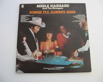 Merle Haggard - Songs I'll Always Sing - Double Album Set! - Circa 1977