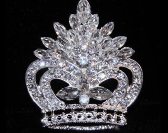 Style # 16130 - Pageant Prize Crown Pin