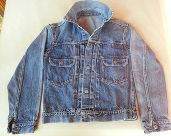 LEVI STRAUSS 507XX Big E 'Type 2' Unisex denim jacket (Original, not a replica)