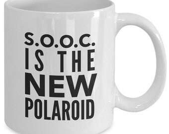Photographer Coffee Mug - S.O.O.C. is the New Polaroid