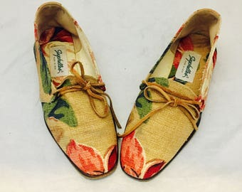 Vintage Flats Tapestry Shoes by Seychelles 7 36 37