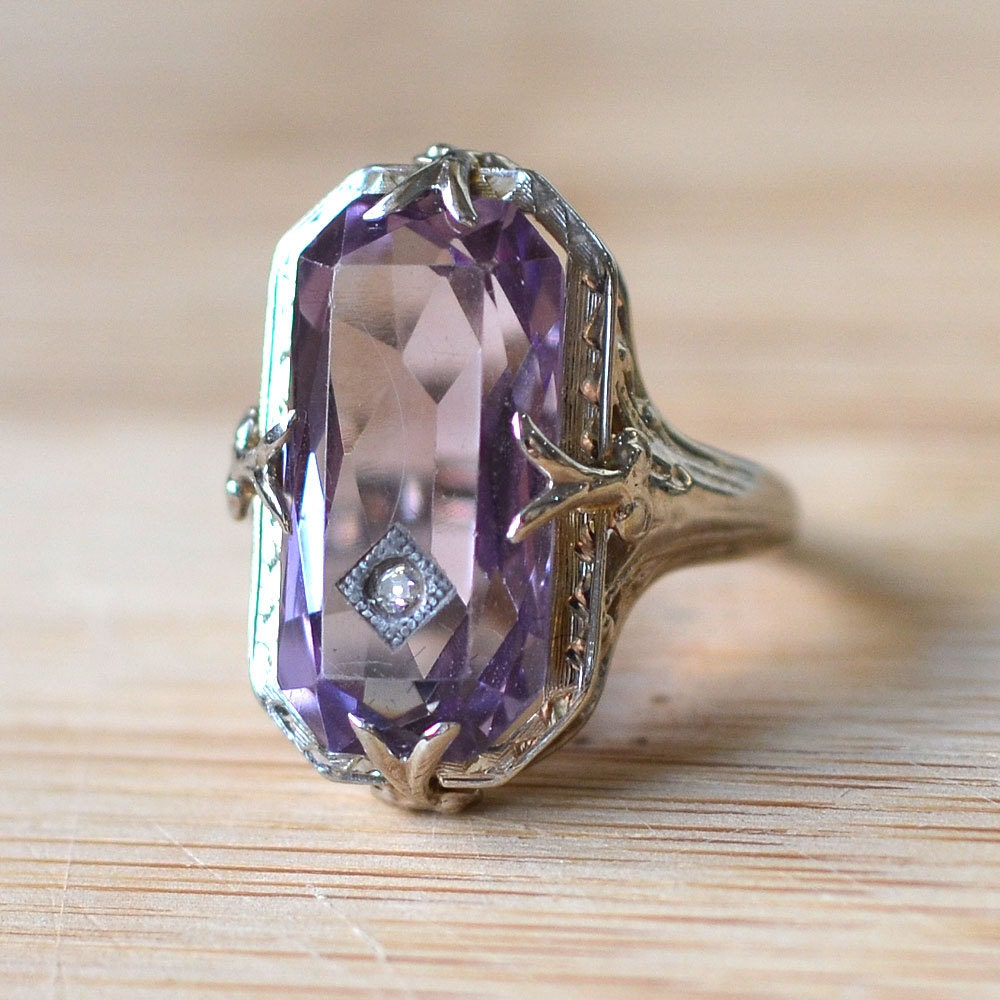 amethyst rings - photo #41