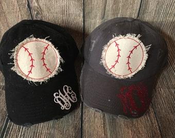 Raggy Baseball monogrammed hat