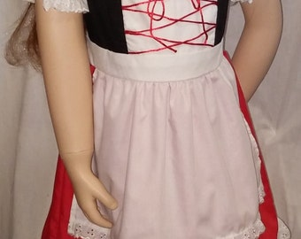 Little Red Riding Hood Costume Size 6