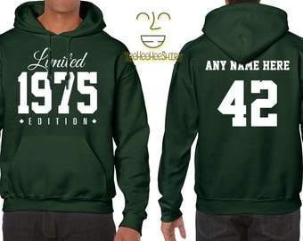 1975 Limited Edition B-day Hoodie 42nd Birthday Gift Cool hipster swag mens womens ladies hooded sweatshirt sweater Unisex