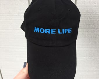 More Life Drake Inspired Embroidered Hat