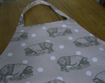 Saddleback Pig Fabric Adult Apron