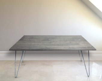 Weathered Gray Coffee Table Gray Coffee Table 16 75 Tall Rustic Gray Wood