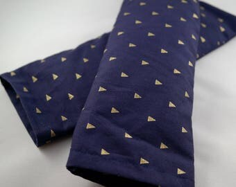 Gold Triangle Lavender Eye Pillow