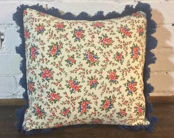 Handmade Vintage French Linen Cushion