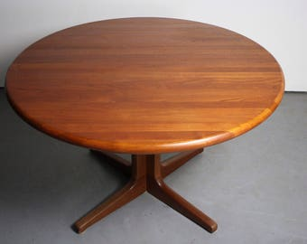 Solid Teak Glostrup Extension Dining Table