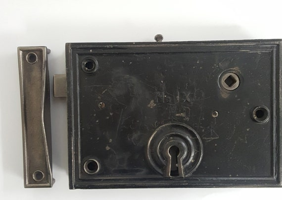 large exterior rim lock set 532057 from charlestonhardwareco on etsy studio
