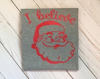 I believe Santa shirt