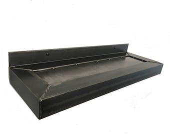 Industrial design wall shelf console storage unique unisex Reagal L 60 cm