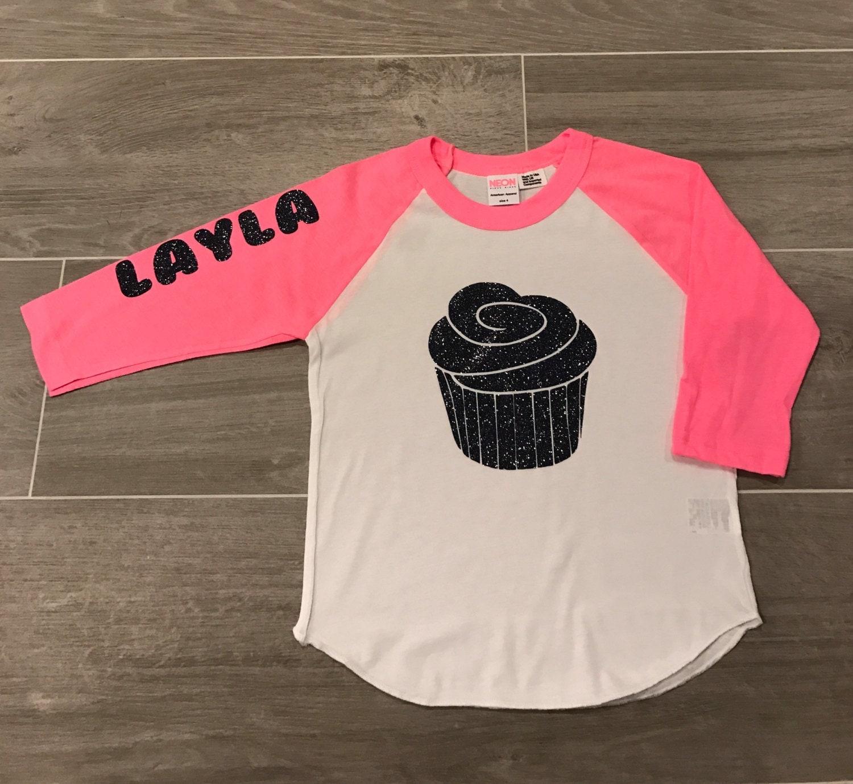 Personalized Birthday Shirt 4th Raglan Milestone
