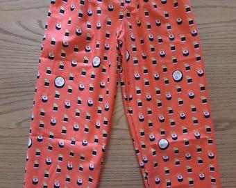 Family pajamas/Sushi pajamas/kids pajamas/women pajamas/mens pajamas/Sushi/cotton pajamas/his and her pajamas/father and son pajamas