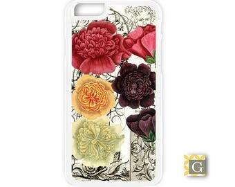 Galaxy S8 Case, S8 Plus Case, Galaxy S7 Case, Galaxy S7 Edge Case, Galaxy Note 5 Case, Galaxy S6 Case - Roses 1700's