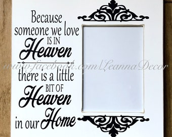 Heaven sign with Frame
